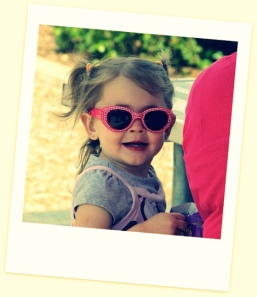 Girl rocking sunglasses